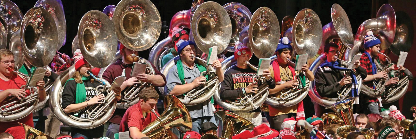 Tuba Christmas.Waynesburg University Tuba Christmas