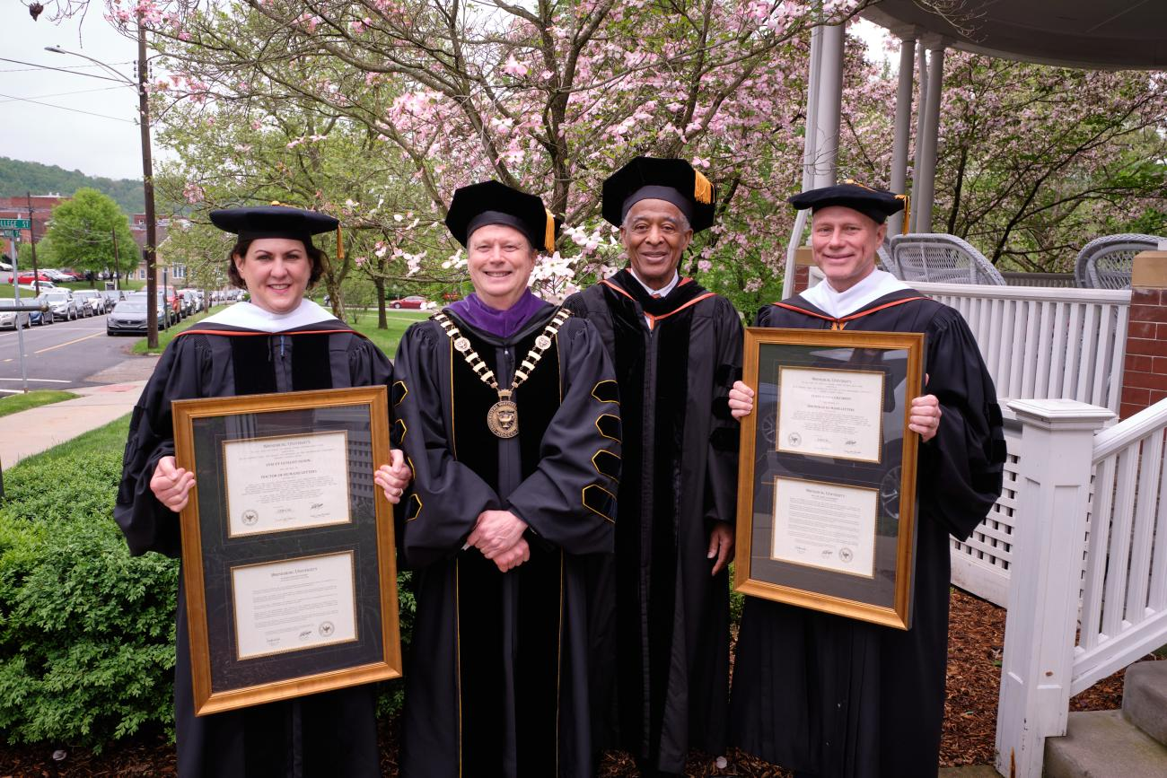 speakers with honorary degrees