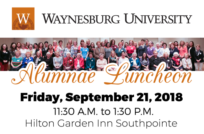 9th Annual Alumnae Luncheon