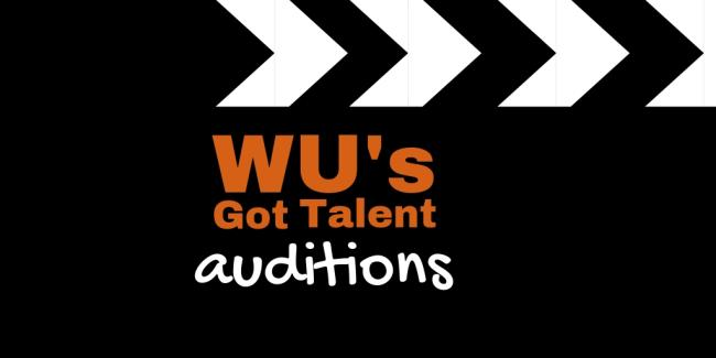 WU's Got Talent Auditions