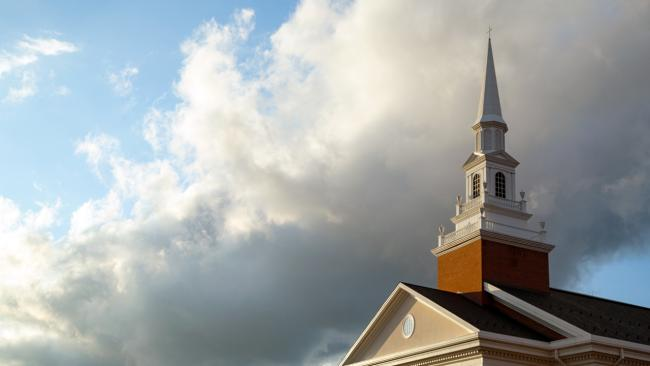chapel clouds
